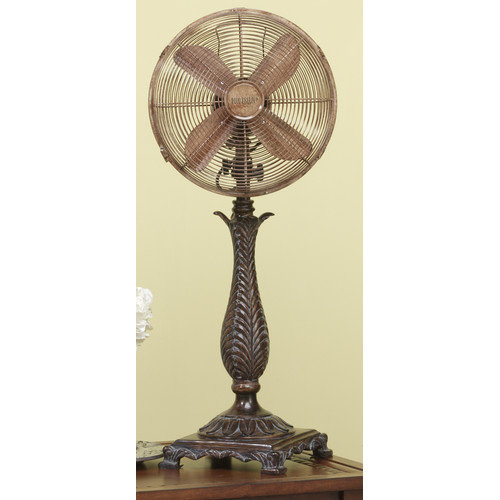 Deco Breeze Roccoco Decorative Table Top Fan