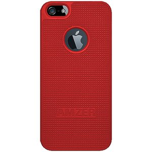 Premium Snap On Hard Shell Case for iPhone SE, iPhone 5S, iPhone 5 - Red