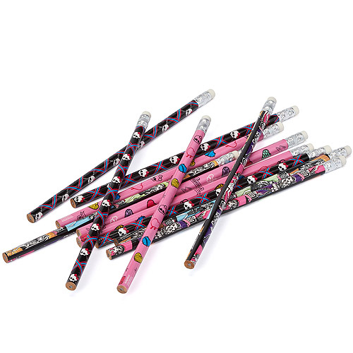 Monster High Pencils Party Favors, 12 Pack, Party Supplies