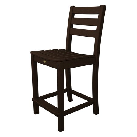 Trex Outdoor Furniture Recycled Plastic Monterey Bay Counter Height Side Chair ()