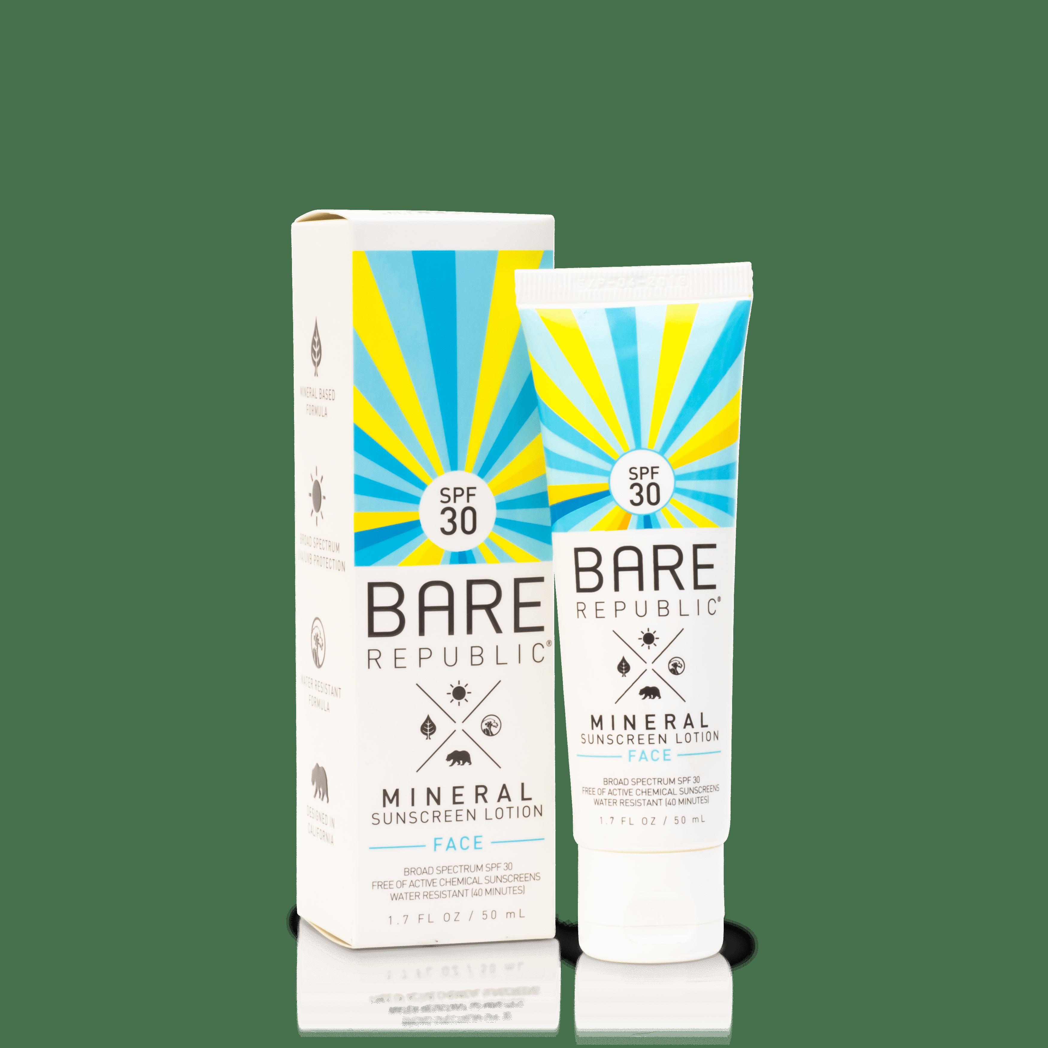 Bare Republic Mineral SPF 30 Face Sunscreen Lotion, 1.7 Oz.
