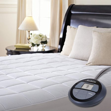 Heated Mattress Pad - Sunbeam Heated Mattress Pad with ComfortTech Controller, Full Size