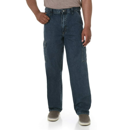 Cotton Thermal Jeans - Men's Relaxed Fit Cargo Jean