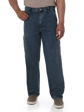 5b61dbd5 Product Image Wrangler Men's Relaxed Fit Cargo Jean