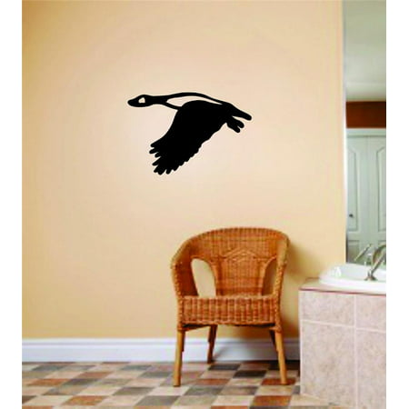 Custom Wall Decal Flying Duck Animal Picture Art Peel & Stick Bedroom Home Decor Vinyl Wall Decal Stickers 8 X 8 - Duck Decor