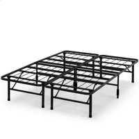 Spa Sensations by Zinus Steel SmartBase Bed Frame Black, Multiple Sizes