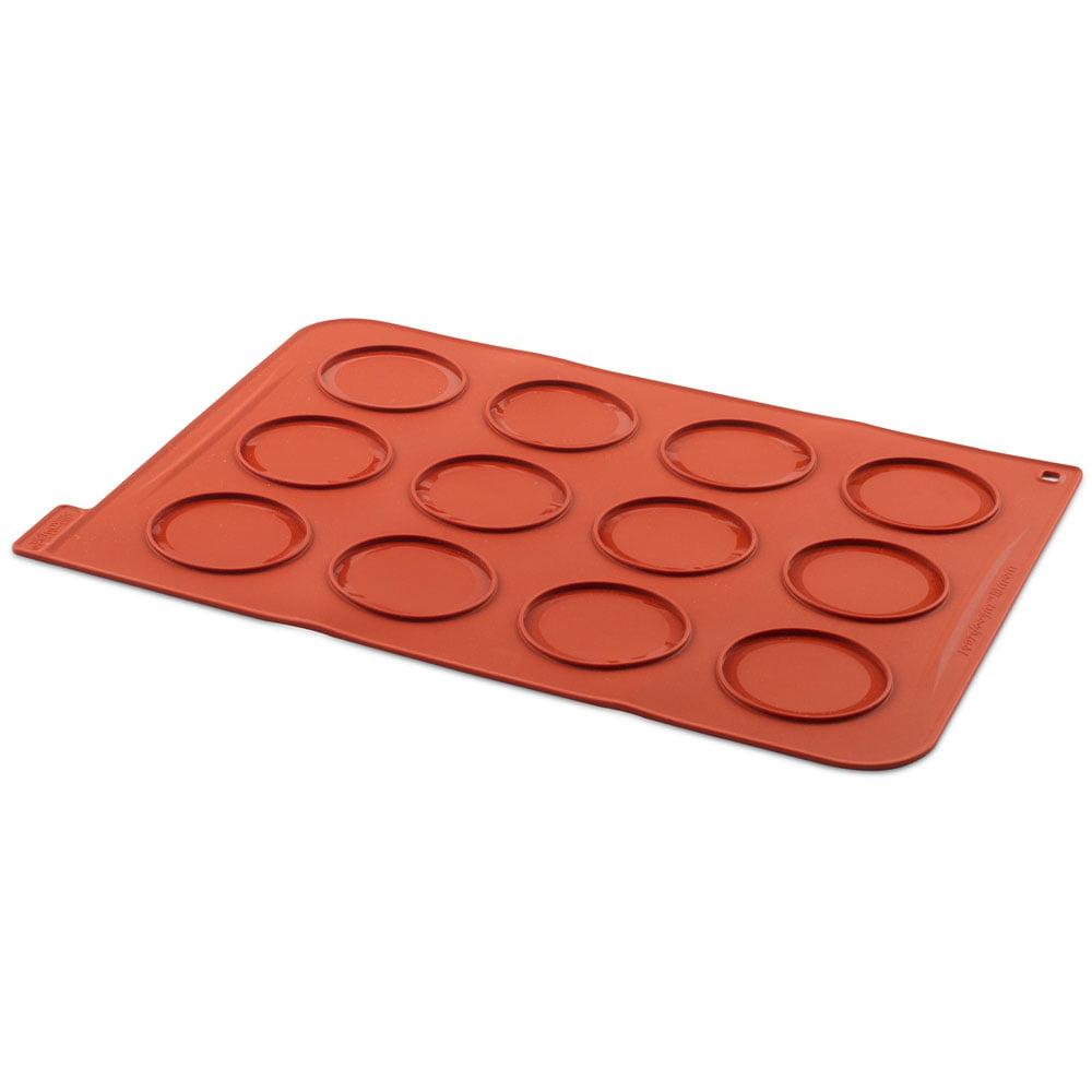 Silikomart Silicone Whoopie Pies Baking Sheet, 12 Forms