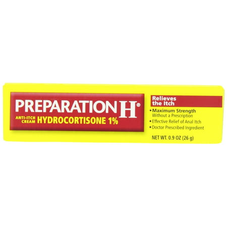 Preparation H Anti-Itch Crème hydrocortisone 1% 0,90 oz