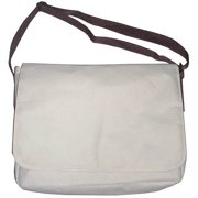 School Smart Messenger Zip Bag with Computer Compartment and Zippered Mobile Pocket