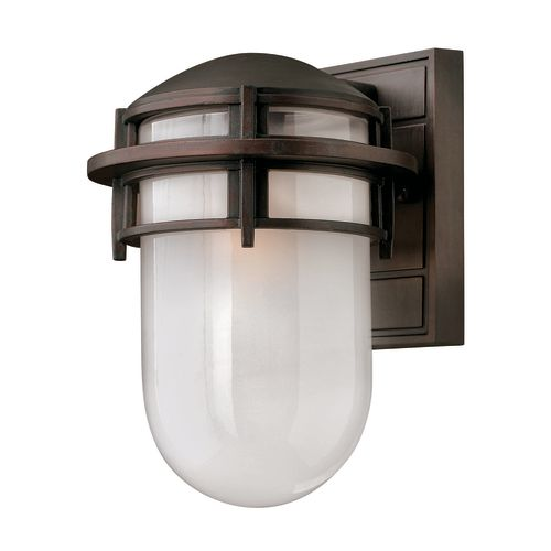 """Hinkley Lighting H1950 10.75"""" Height 1-Light Outdoor Wall Sconce from the Reef Collection"""