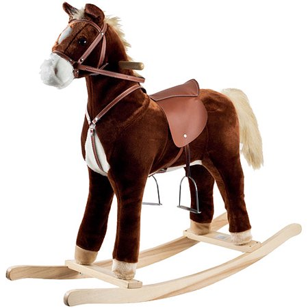 Happy Trails Plush Rocking Horse ()