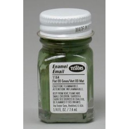 Olive Green Testors Enamel Plastic Model Paint