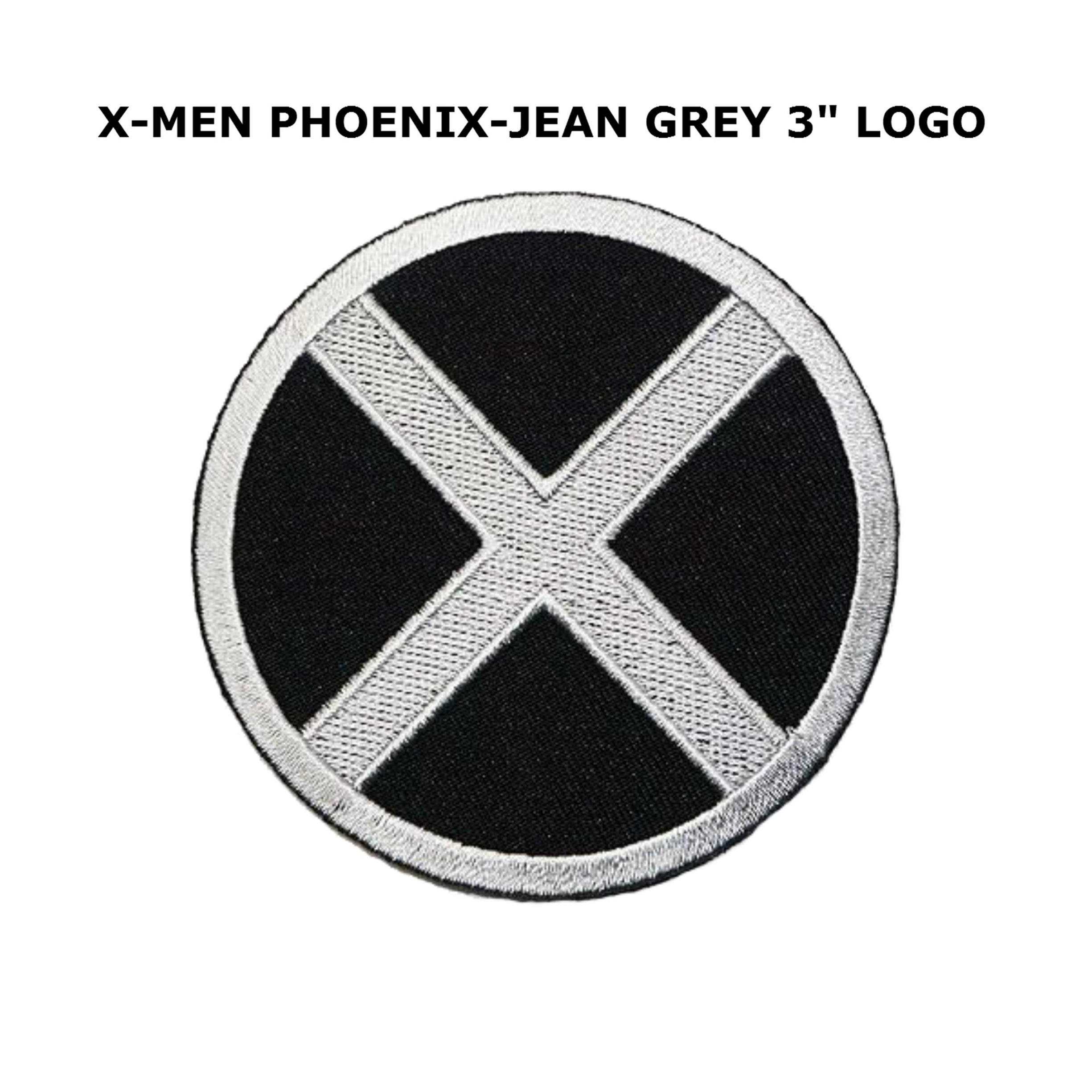 """Superheroes X-MEN 3"""" Embroidered Iron/Sew-on Applique Patch"""