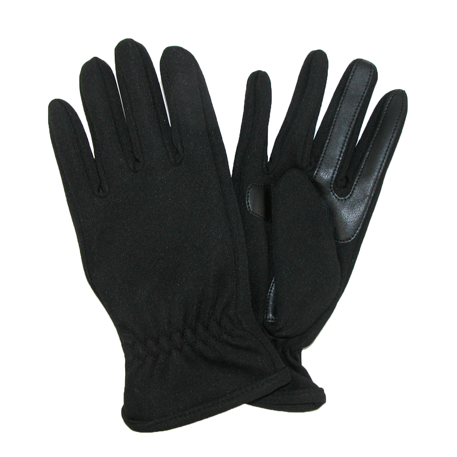 totes ISOTONER Size Xlarge Mens Unlined SmarTouch Stretch Glove, Black