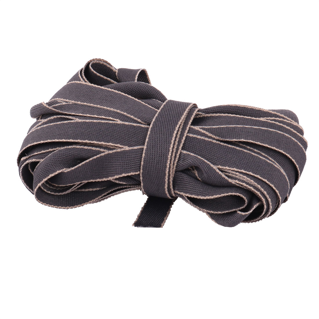 Celebration DIY Craft Sewing T-shirt Hair Ribbon Dark Gray 1cm Width 10 Yards