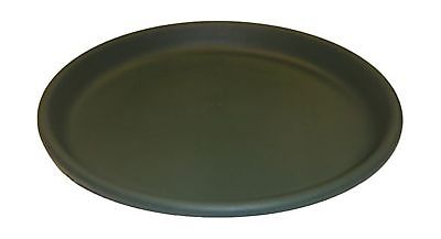 Erva 17 inch Birdbath Plastic Dish; Green Garden Yard Lawn Patio Decoration by Erva
