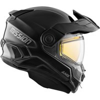 CKX Solid Mission AMS Full Face Helmet Electric Double Shield