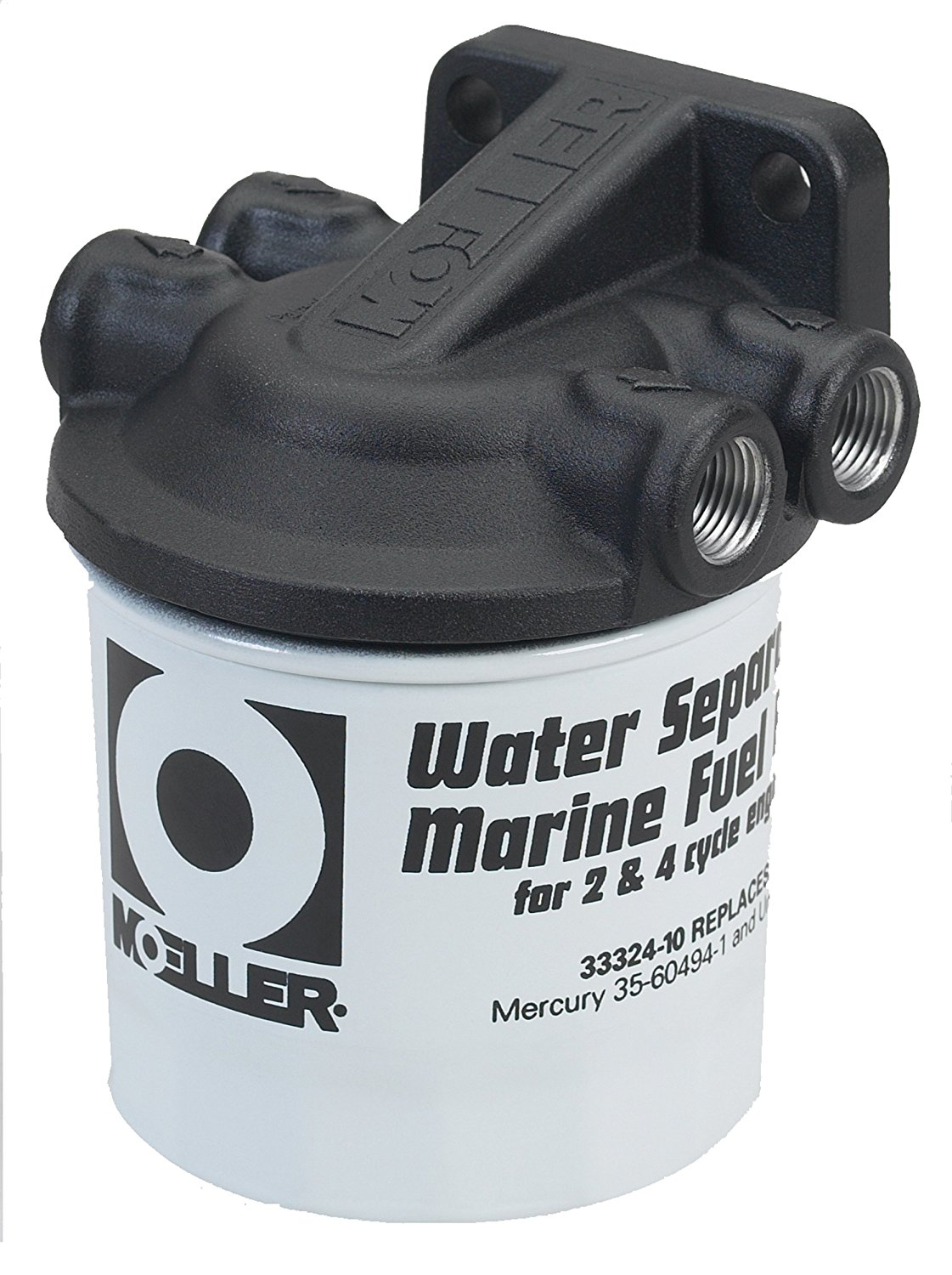 Moeller Water Separating Fuel Filter (Johnson/Evinrude), Fuel filter for  Johnson and Evinrude outboard motors By Moeller Marine - Walmart.com