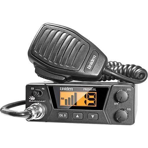 Uniden PRO505XL 40-Channel CB Radio with Squelch Control