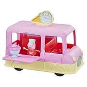 Peppa Pig Peppa's Adventures Peppa's Ice Cream Truck Vehicle Toy, Speech and Sounds