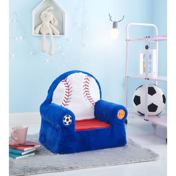 American Kids Figural Foam Chair, Available in multiple styles