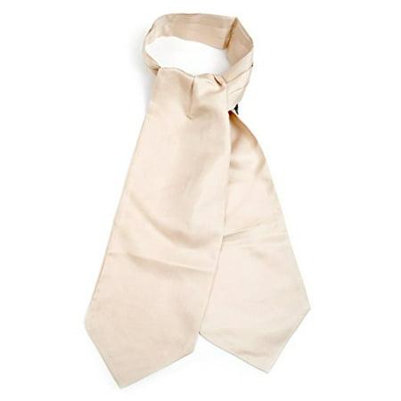 Silk Solid Color Ascot Cravat (Silk Cravats)