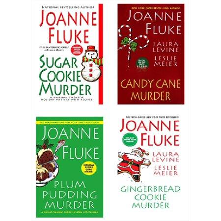 Joanne Fluke Christmas Bundle: Sugar Cookie Murder, Candy Cane Murder, Plum Pudding Murder, & Gingerbread Cookie Murder - (Best Christmas Cookies And Candy Recipes)