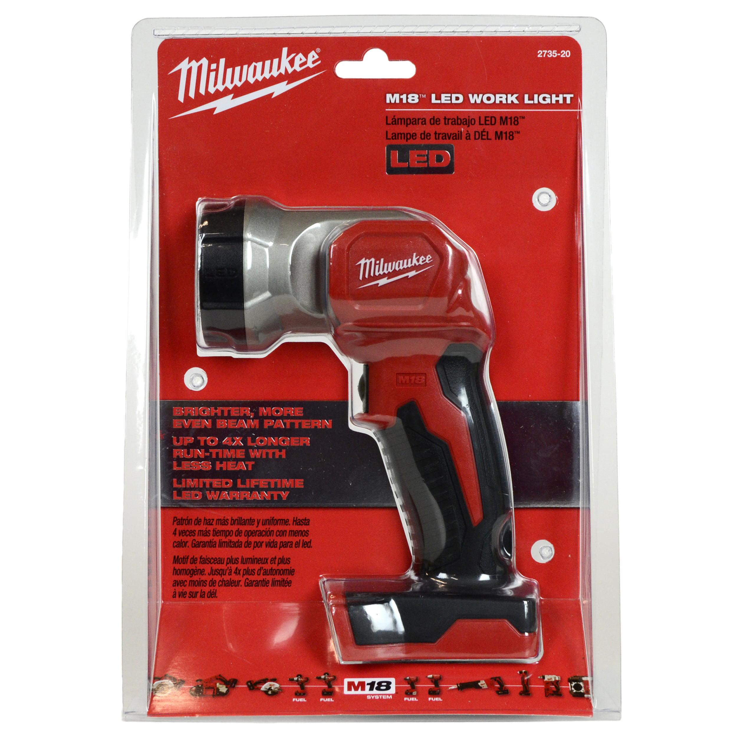 20 Torch Milwaukee 2735 Tool 18v Flashlight Tools WorklightBare Cordless Led M18 34j5qARL