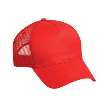 Otto Cap Cotton Twill Five Panel Low Profile Style Mesh Back Caps - Hat / Cap for Summer, Sports, Picnic, Casual wear and Reunion etc