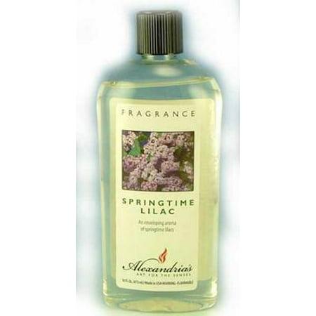 Alexandria Fragrance Lamp Oil Refills - 16oz - SPRINGTIME LILAC ()