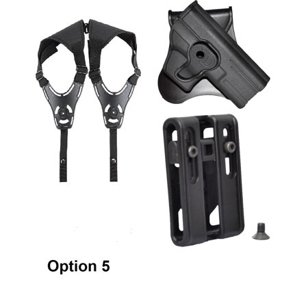 - Tactical Scorpion EAA Witness Compact Modular Level II Retention Paddle Holster