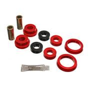 Energy Suspension Fd Axle Pivot Arm W/Thrust Wsh - Red