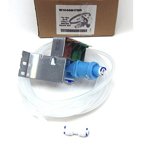 Express Parts  2205762 Solenoid Water Valve For Whirlpool Kenmore Kitchenaid Estate Side By Side (Whirlpool Side By Side Refrigerator Leaking Water)