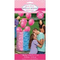 Baby Shower Gender Reveal 'Girl or Boy' Girl Balloon Release Kit (9pc)