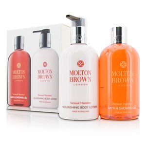 Molton Brown - Sensual Hanaleni Bath & Body Set: Bath & Shower Gel 300ml|10oz + Nourishing Body Lotion 300ml|10oz -2pcs