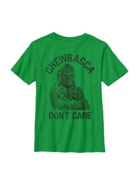 Star Wars Boys' Chewbacca Don't Care T-Shirt