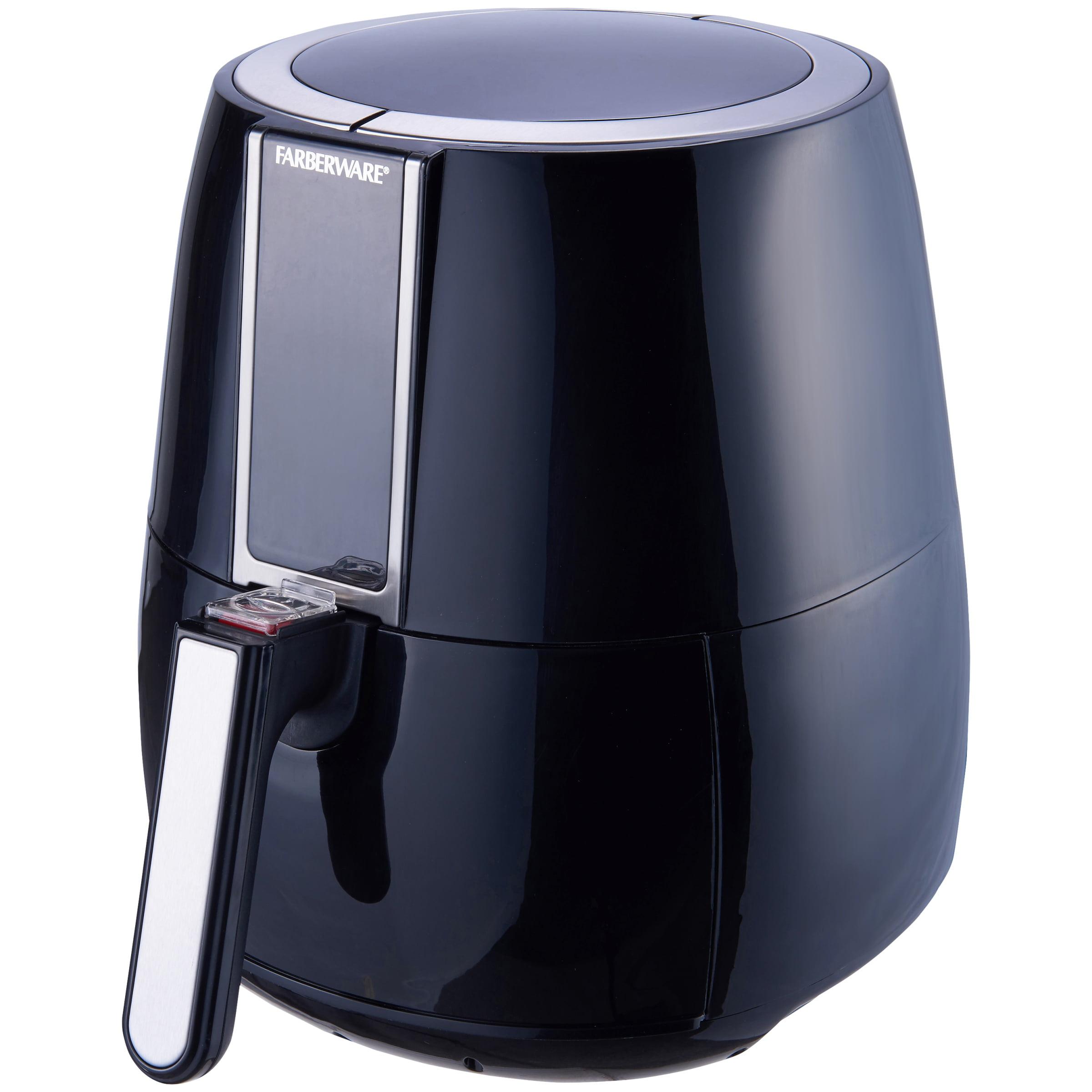 Farberware 3 Liter Digital Oil-Less Fryer, Black