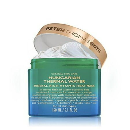 Peter Griffin Mask (Hungarian Thermal Water Mineral-Rich Atomic Heat Mask by Peter Thomas Roth for Unisex - 5.1 oz)