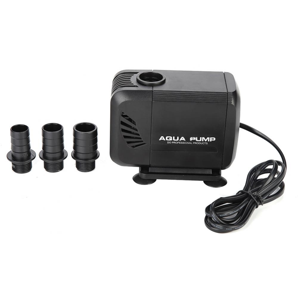 WALFRONT Fish Tank Aquarium Submersible Pump Fountain Pond Water Circulation 110V US Plug,Fish Tank Submersible Pump,Aquarium Water Pump - image 3 de 7