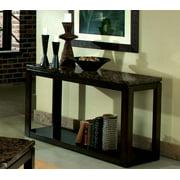 Standard Furniture Bella 50 Inch Sofa Table in Deep Brown
