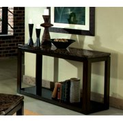 Standard Furniture Bella 50 Inch Sofa Table in Deep Brown