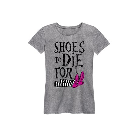Fit Die - Shoes To Die For, Witch  - Ladies Short Sleeve Classic Fit Tee