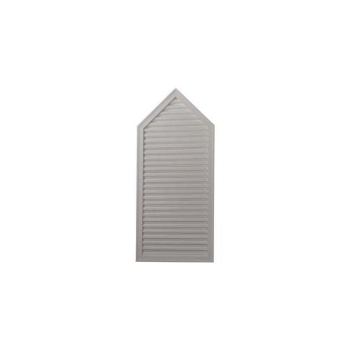 Ekena Millwork GVPE24X54D 24. 12 inch W x 54. 12 inch H x 1. 88 inch P, Peaked Gable Vent - Decorative