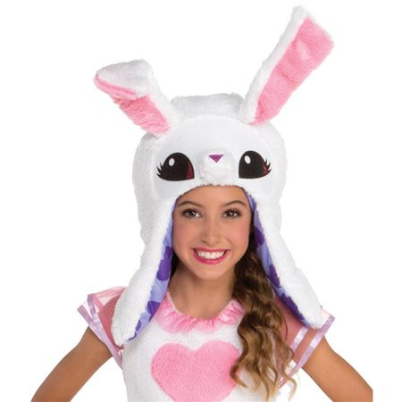 Loftus LF92749 Child Animal Jam Enchanted Magic Bunny Hoodie, One Size Bunny Kids Hoodie