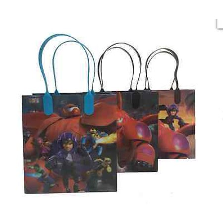 Big Party Store (LWS LA Wholesale Store  12 bags Disney Big Hero 6 Party Favor Goody gift bag birthday mickey)