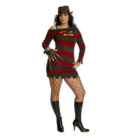 Miss Sassy Krueger Adult Halloween Costume - Adult Scary Halloween Costumes