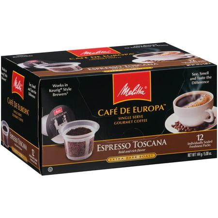 Melita Cafe De Europa Espresso Extrra Dark Roast