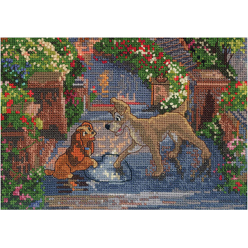 Thomas Kinkade Disney Dreams Collection, Lady and The Tramp