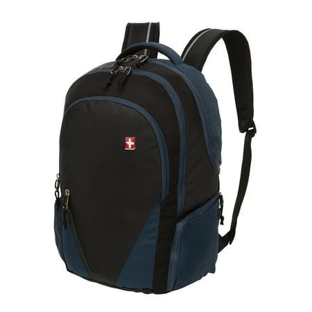 Swiss+Tech Basel School Backpack, Navy