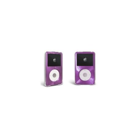 Purple For Apple iPod Classic Hard Case with Aluminum Plating 80gb 120gb